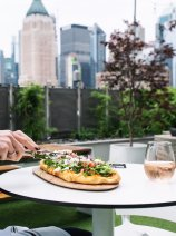YOTEL New York - dining on the rooftop