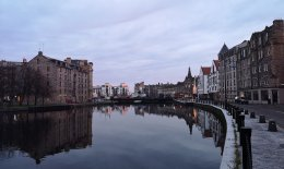 Edinburgh water canal