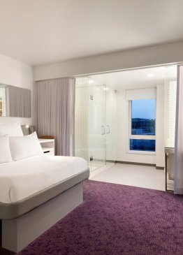 YOTEL Boston First Class King Junior Suite Accessible