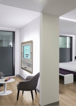 YOTEL Istanbul Airport Landside First Class King Junior Suite