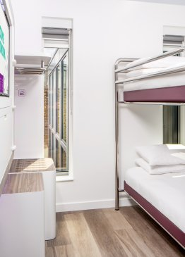 YOTEL London Bunk cabin