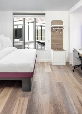 YOTEL London VIP Suite bedroom