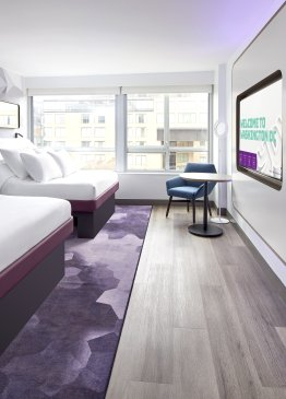 YOTEL Washington DC First Class Two Queens View