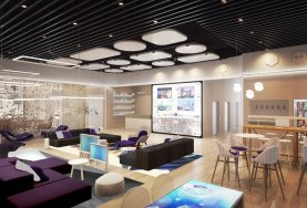 YOTELPAD Park City - shared spaces