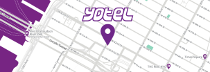 YOTEL New York map