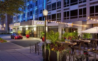 YOTEL Washington DC Outdoor patio - WDC