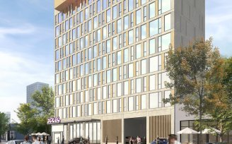 YOTEL Long Island City exterior rendering