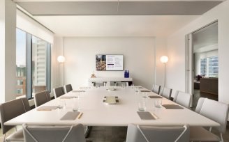 YOTEL Boston Meeting Room - boardroom style