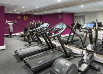 YOTEL London Gym fitness equipment