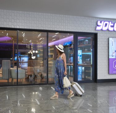 YOTELAIR Istanbul Airport Landside entrance