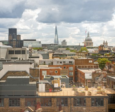 View of London from YOTEL London Clerkenwell